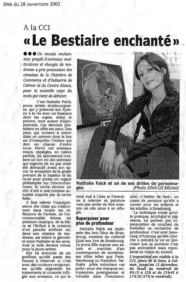 DNA – Novembre 2003