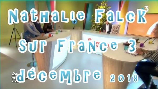 Avant Noël, Nathalie Falck sur France 3 Alsace
