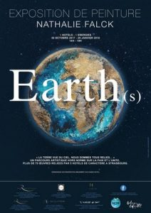 Exposition «EARTH» : 5 hôtels, 5 énergies du 30 octobre 2017 au 29 janvier 2018 de 14h à 19h