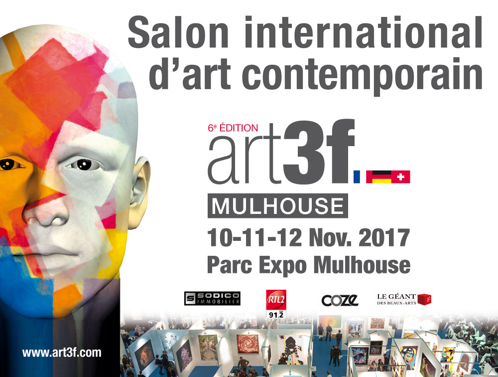 Salon d'art contemporain de Mulhouse du 10 au 12 novembre 2017