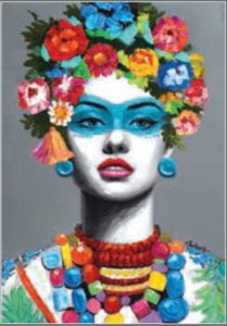 Exemple pour le stage Frida kahlo